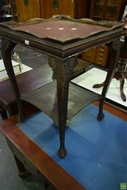 Sale 8566 - Lot 1712 - Leather Top Occasional table