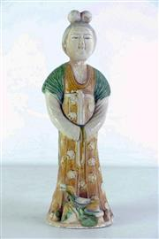 Sale 8968 - Lot 61 - A Tang Style Lady Figure (H 37cm, Chip to Base)