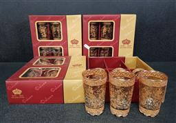 Sale 9254 - Lot 2377 - Collection of boxed lead crystal glasses