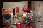 Sale 8330T - Lot 179 - Caithness Glass Vase with Other Art Glass incl Thomas Webb