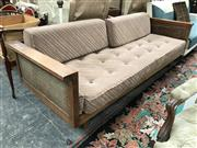 Sale 8859 - Lot 1062A - Vintage Daybed with Rattan Sides