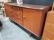 Sale 8872 - Lot 1008 - Younger Aformosa Teak Sideboard