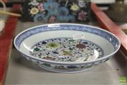 Sale 8283 - Lot 44 - Famille Rose Plate with Flowers