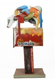 Sale 8575 - Lot 566 - Jeff Thomson (1957 - ) - Letterbox 106cm (height)