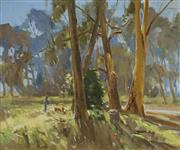 Sale 8929 - Lot 563 - John B. Dudley (1931 - ) - On the Trail 49.5 x 59.5 cm