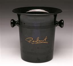 Sale 9119 - Lot 170 - A promotional Pierlant twin handled champagne bucket H: 21cm