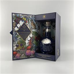 Sale 9142W - Lot 1074 - Chivas Brothers Royal Salute - The Signature Blend 21YO Blended Scotch Whisky - in Wade Porcelain flagon, 40% ABV, 700ml in box