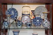 Sale 8160 - Lot 99 - Chinese Antique Ceramics Incl Blue and White Teapot and Others A/F