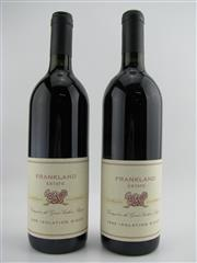 Sale 8439W - Lot 751 - 2x 1995 Frankland Estate Isolation Ridge Shiraz, Great Southern