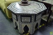 Sale 8542 - Lot 1022 - Mother of Pearl Inlaid Octagonal Occasional Table