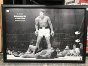 Sale 8805A - Lot 837 - Mohammad Ali vs. Sonny Liston Print