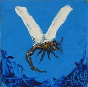 Sale 9067A - Lot 5021 - Kevin Charles (Pro) Hart (1928 - 2006) - Dragonfly 10.5 x 10.5 cm (frame: 42 x 42 x 2 cm)