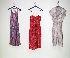 Sale 3741 - Lot 1027 - Three rayon brocade cocktail dresses