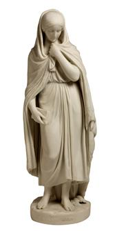 Sale 7937 - Lot 23 - Parian Ware Figure Hyland Mary