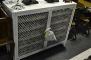 Sale 8058 - Lot 1045 - French Two Door Wine Cage in White