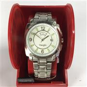 Sale 8283B - Lot 79 - A WRANGLER QUARTZ WRISTWATCH, with day and date aperture, new in display box, needs battery.