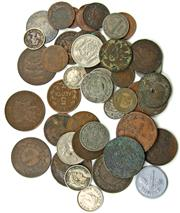 Sale 8299C - Lot 537 - GROUP OF WORLD COINS (54); France, Russia, Hungary, Switzerland, Austria etc, 19th & 20th Century.