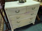 Sale 8462 - Lot 1091 - Painted Chest of Five Drawers