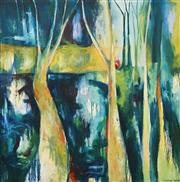 Sale 8525 - Lot 2028 - Sophie Miles - Through the Trees 156 x 155cm