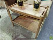 Sale 8532 - Lot 1018 - Teak Trolley