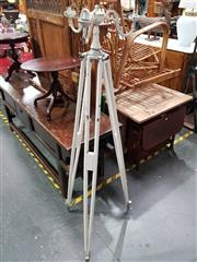 Sale 8717 - Lot 1010 - Candelabra On Tripod Stand