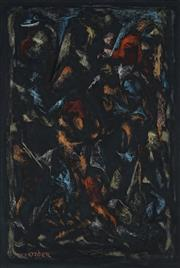 Sale 8916 - Lot 510 - Desiderius Orban (1884 - 1986) - Untitled (Abstract) 53 x 36 cm