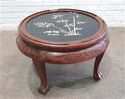 Sale 9134 - Lot 1487 - Chinese Round MOP Inlayed Table