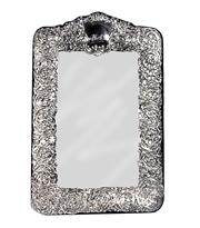 Sale 7937 - Lot 66 - English Hallmarked Sterling Silver Easel Mirror