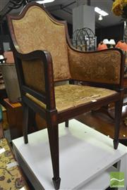Sale 8277 - Lot 1096 - Upholstered Armchair