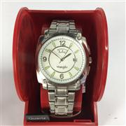 Sale 8283B - Lot 80 - A WRANGLER QUARTZ WRISTWATCH, with day and date aperture, new in display box, needs battery.