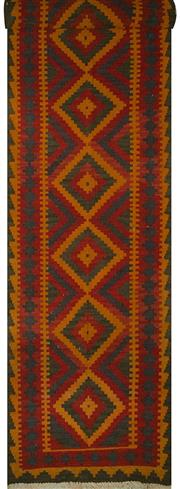 Sale 8424C - Lot 88 - Persian Kilim Runner 480cm x 85cm