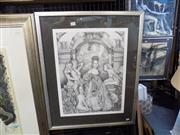 Sale 8429A - Lot 2100 - Amber Subaki Limited Edition Print The Bridal Party, Signed in Pencil & Editioned 54x40cm