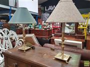 Sale 8455 - Lot 1072 - Pair of Table Lamps