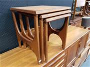 Sale 8723 - Lot 1010 - Quality G Plan Teak Nest of Tables