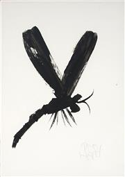 Sale 9067A - Lot 5061 - Kevin Charles Pro Hart (1928 - 2006) - Dragonfly 29.5 x 21 cm (frame: 60 x 50 x 2 cm)