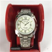 Sale 8283B - Lot 81 - A WRANGLER QUARTZ WRISTWATCH, with day and date aperture, new in display box, needs battery.