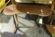 Sale 8499 - Lot 1067 - Kidney Shaped Occasional table