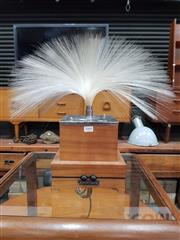 Sale 8801 - Lot 1060 - Vintage Fantasia Table lamp with Fibre Optic Top