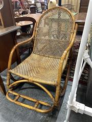 Sale 8901F - Lot 1096 - Cane Rocking Chair