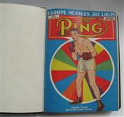 Sale 8125 - Lot 73 - The Ring 1938, a complete bound set of 12 issues with covers.