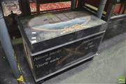 Sale 8323 - Lot 1059 - Painted Timber Pirates Trunk