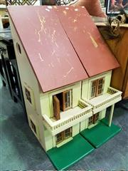 Sale 8462 - Lot 1077 - Timber Dolls House