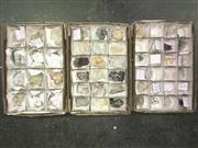 Sale 8567 - Lot 844 - Zeolite Group Crystals (3 boxes of 12, 18 & 24 pieces)