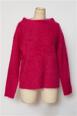 Sale 9095F - Lot 59 - A Burberry Brit hot pink mohair knit with round neck, size S