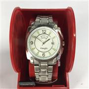 Sale 8283B - Lot 83 - A WRANGLER QUARTZ WRISTWATCH, with day and date aperture, new in display box, needs battery.