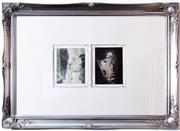 Sale 8338A - Lot 100 - A pair of framed Norman Lindsay monophoto lithograph, Pans Hour, 146/200 plate number 131, & The Stairs, both 146/200, plate number...