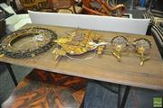 Sale 8337 - Lot 1073 - Retro Light Fittings