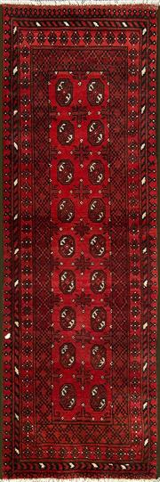 Sale 8345C - Lot 35 - Afghan Turkman 227cm x 73cm