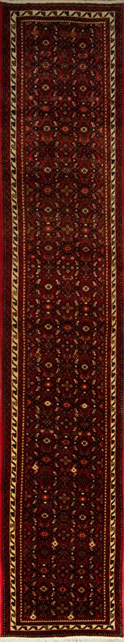 Sale 8406C - Lot 70 - Persian Hussien Abad Runner 380cm x 76cm