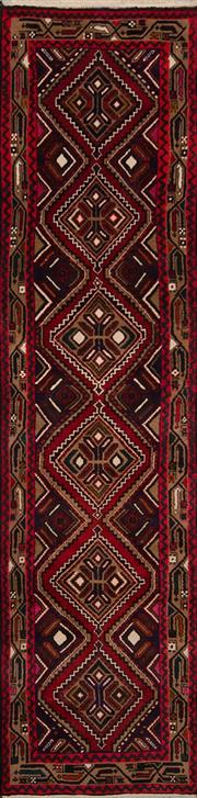 Sale 8447C - Lot 93 - Persian Hamadan Runner 310cm x 75cm